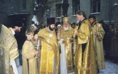 На Крещение,конец 1990-х