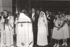 1970, Кузнецы, венчание Кречетовых