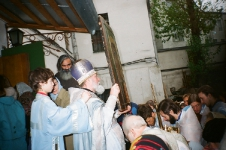крестный ход,Казанская, 1990-е