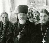 с И.В.Ватагиной, о.Владимиром Федяниным