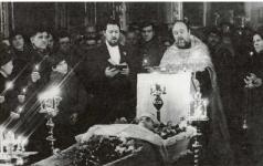 1982. отпевание Варлама Шаламова