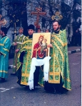 13.11.2004, перенесение  Скоропослушницы на Афонское подворье