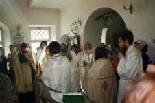 22.06.2000, последняя панихида святым храма